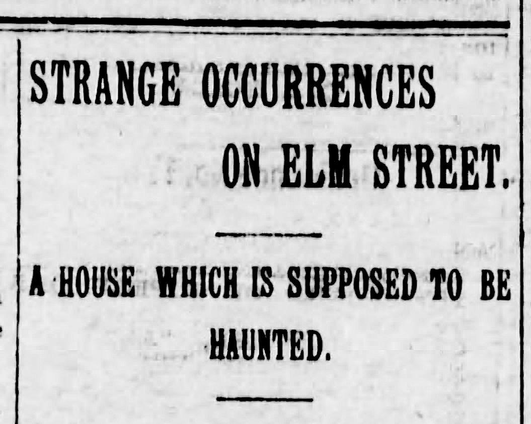 Elm Street haunting, haunted house Santa Cruz, haunted Santa Cruz