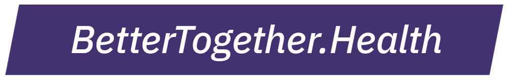 Logo with web address BetterTogether.Health