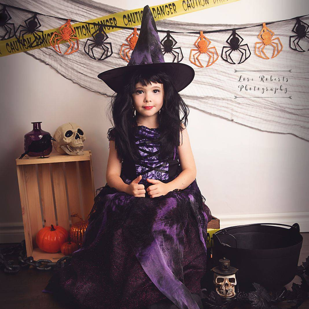 halloween, halloween photography session, witch portrait