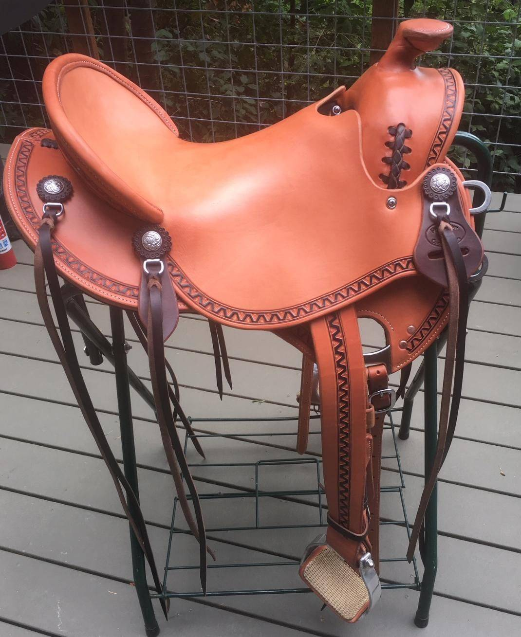 Seattle River Hawk Custom Western Saddle