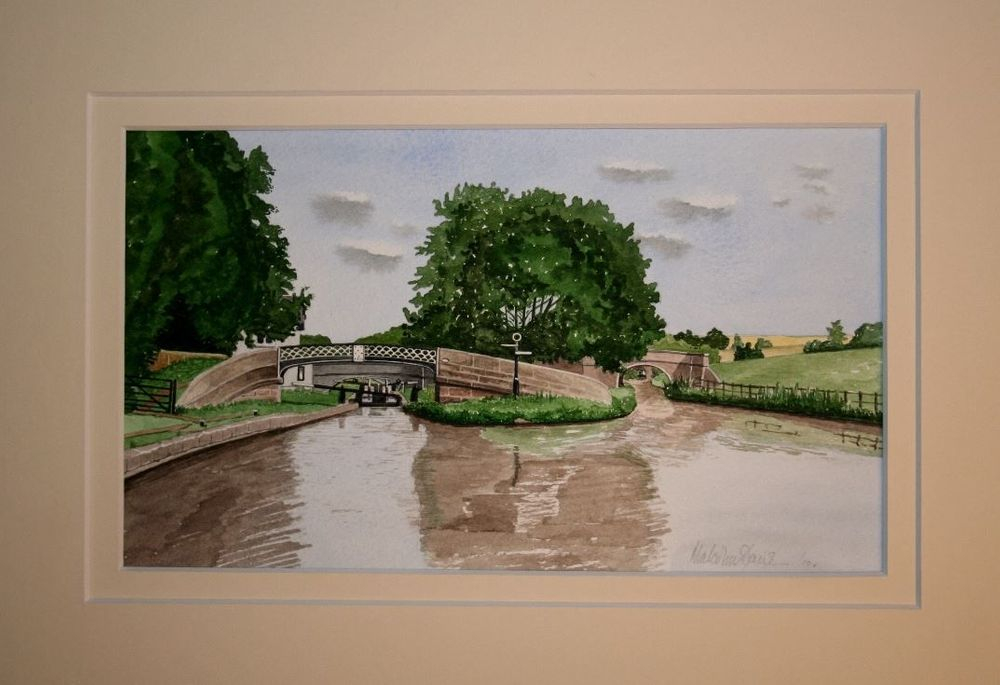 Caldon canal at the Leek junction : £40