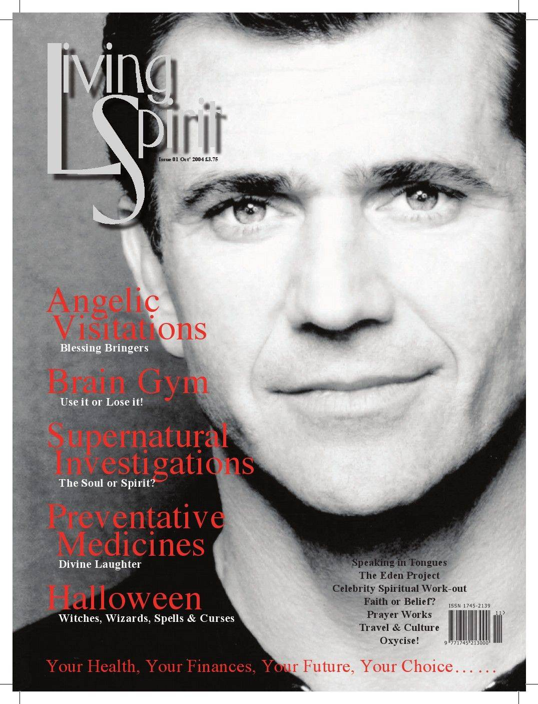 LIVING SPIRIT MAGAZINE - UK - ISSUE 1