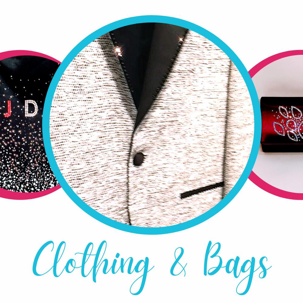 bespoke custom bags, jacket, fashion