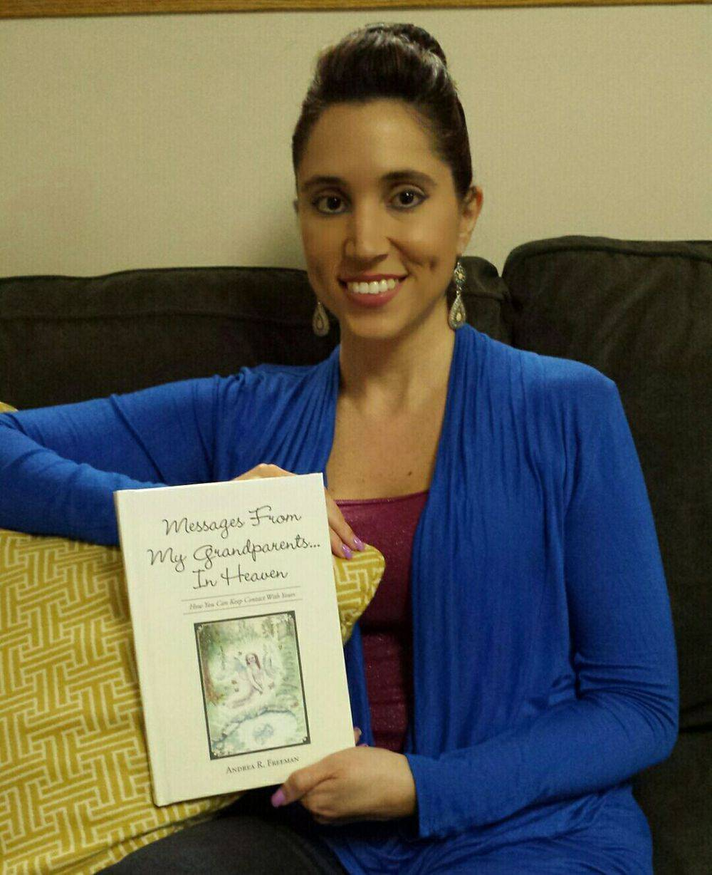 Andrea R Freeman, Author, Messages From My Grandparents In Heaven, Barnes & Noble, Amazon, Balboa Press, Book Release
