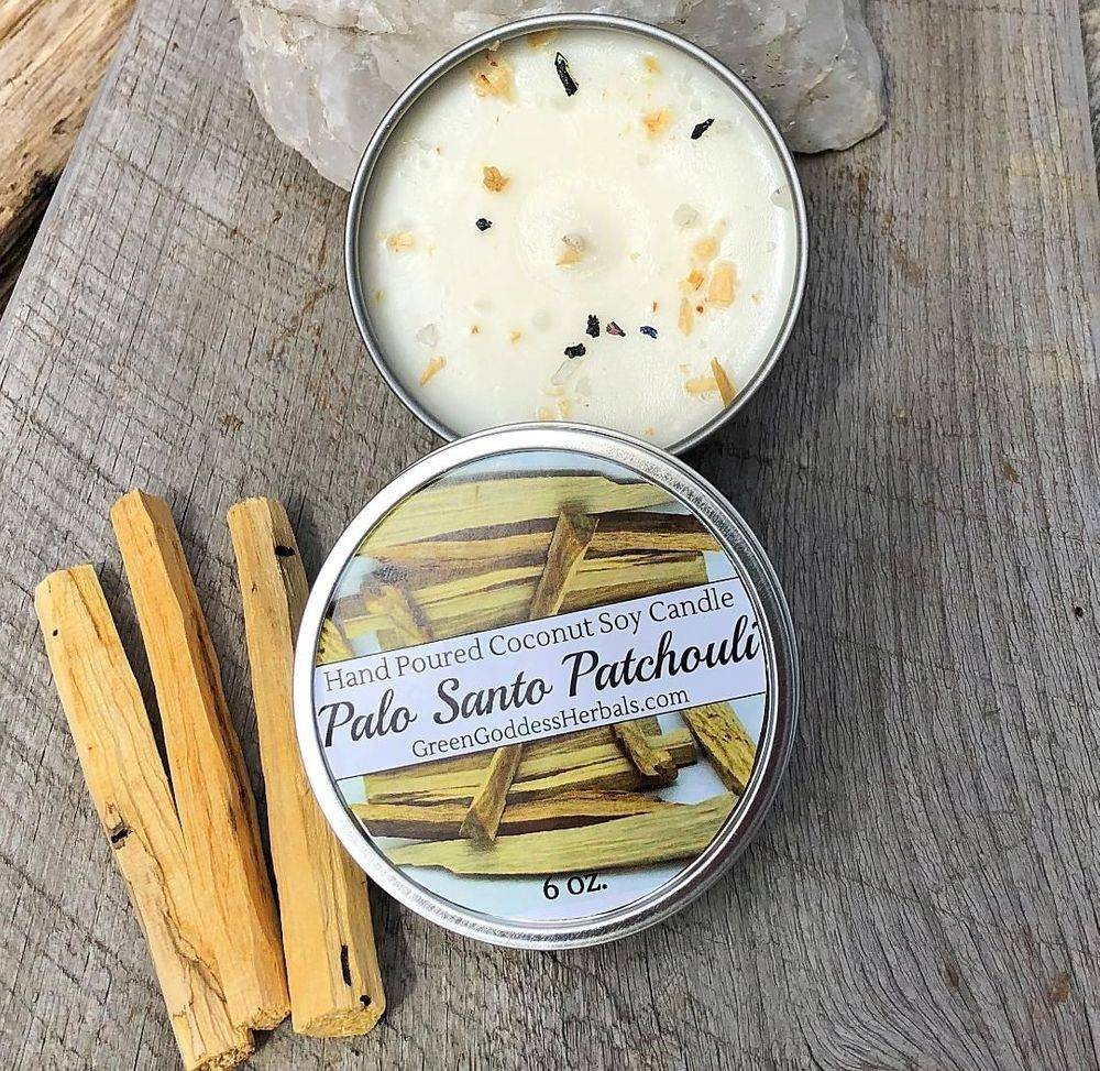 Palo Santo Soy Candle