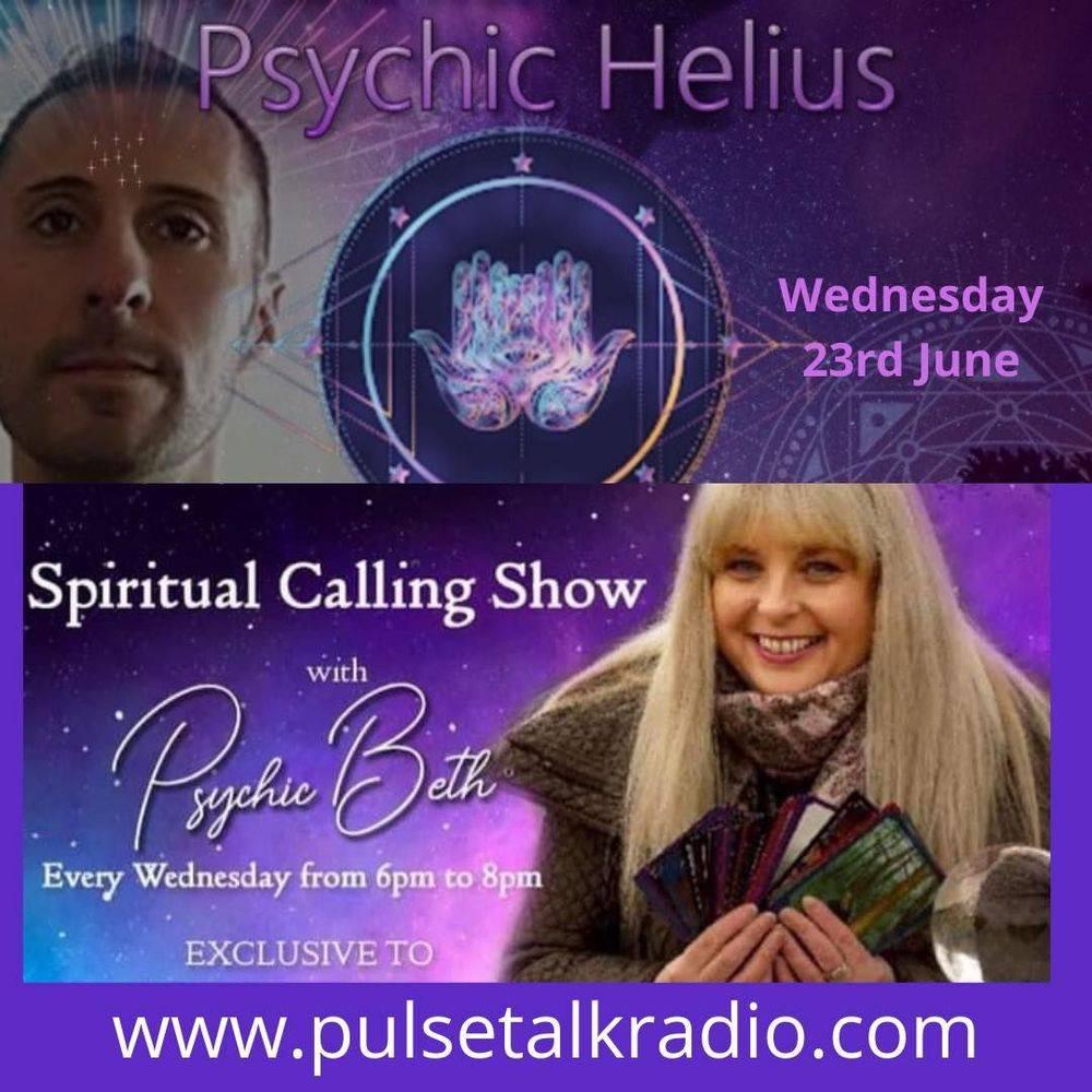 Pulse Talk Radio Psychic Helius Readings Psychic Beth