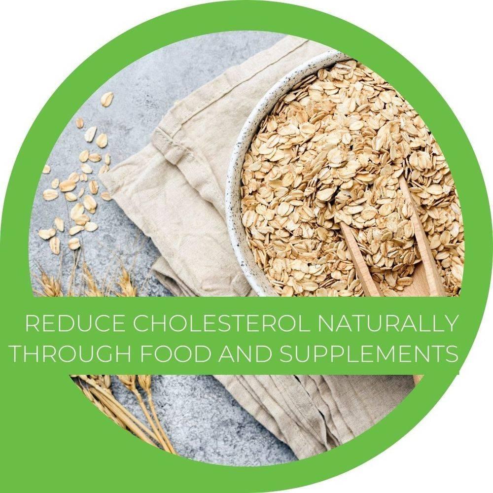 Lowering cholesterol naturally