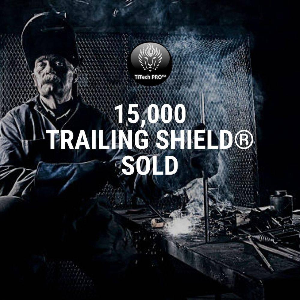 titech pro, titech production as, trailing shield 2.0, titanium, welding, sveis