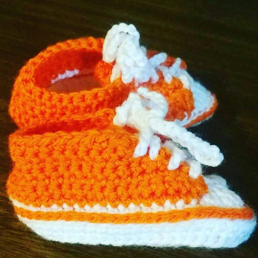 baby sneakers handmade