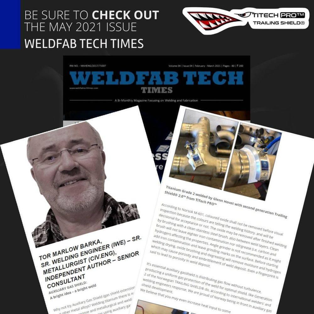 trailing shield titech pro, titanium, HFT
