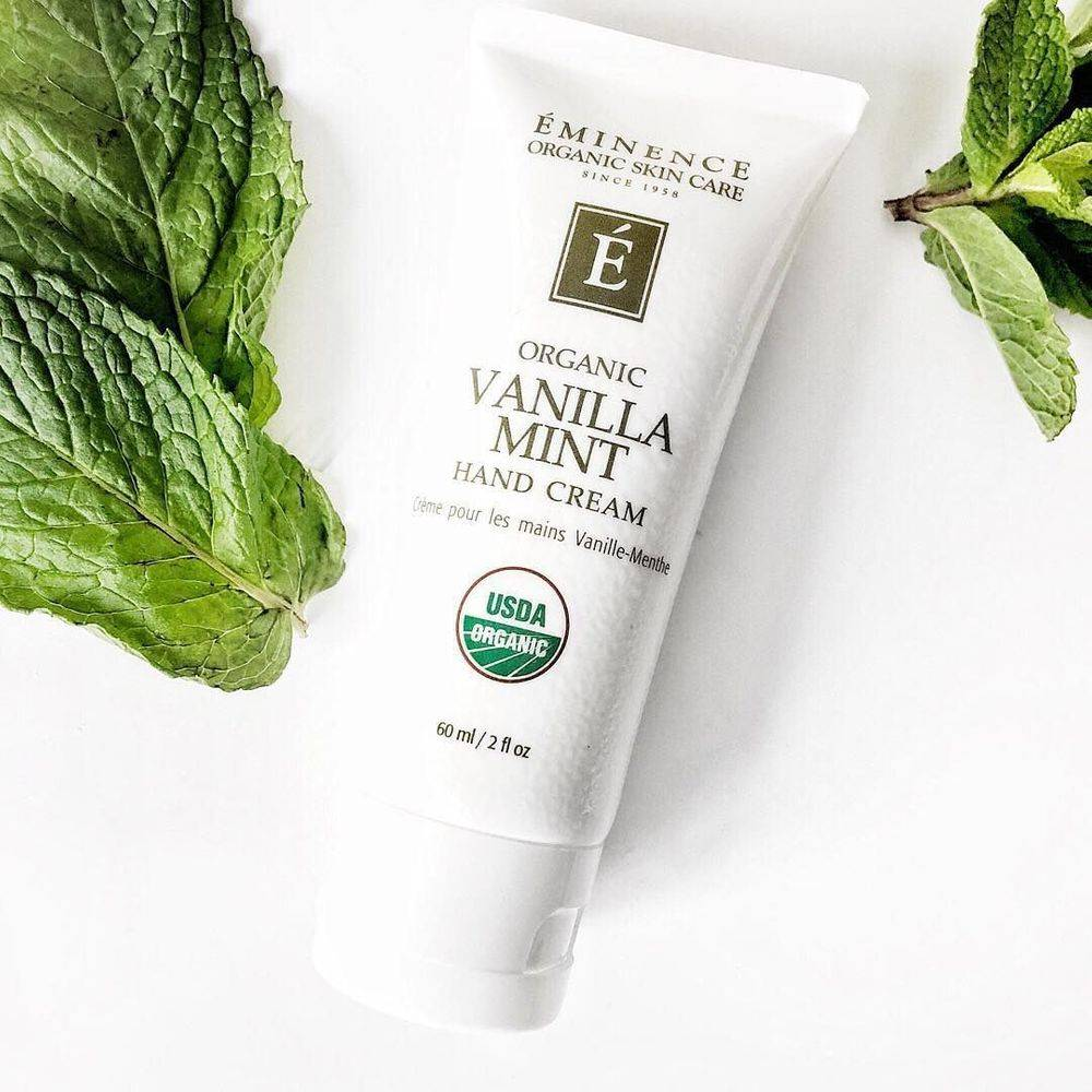 Eminence vanilla mint hand cream, by eminence in kanata, buy eminence in Barhaven