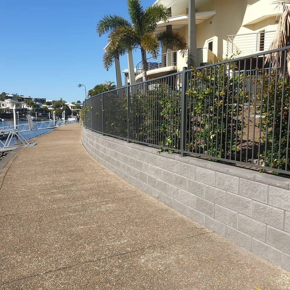 recommended landscapers gold coast, retaining walls gold coast