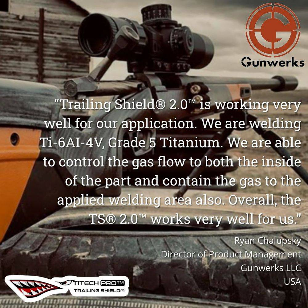 titech pro, trailing shield, 2.0, titanium, gas, norway