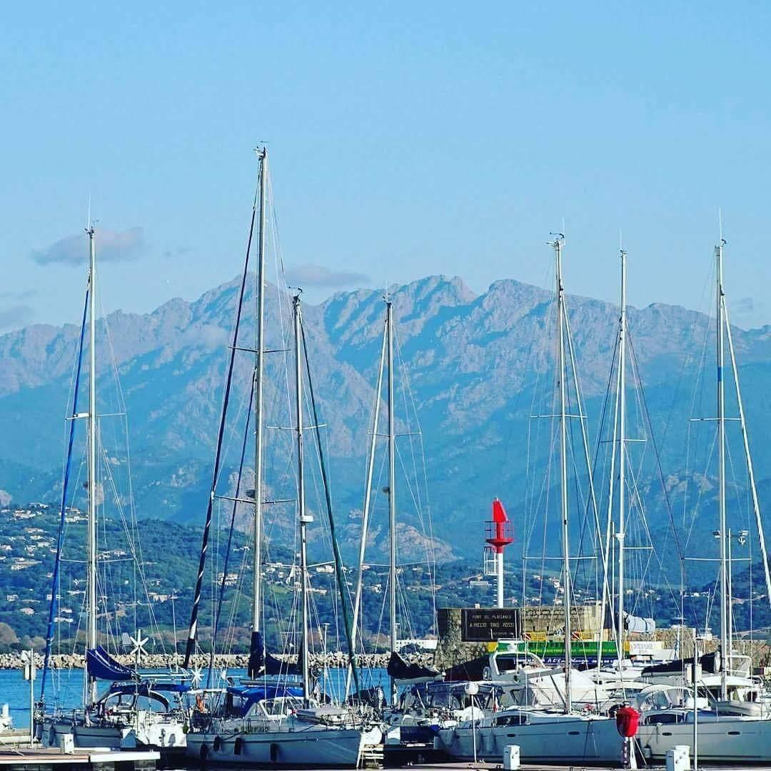 yacht, blue mountain, ajaccio, corsica, france, mediterannean, holiday, alps