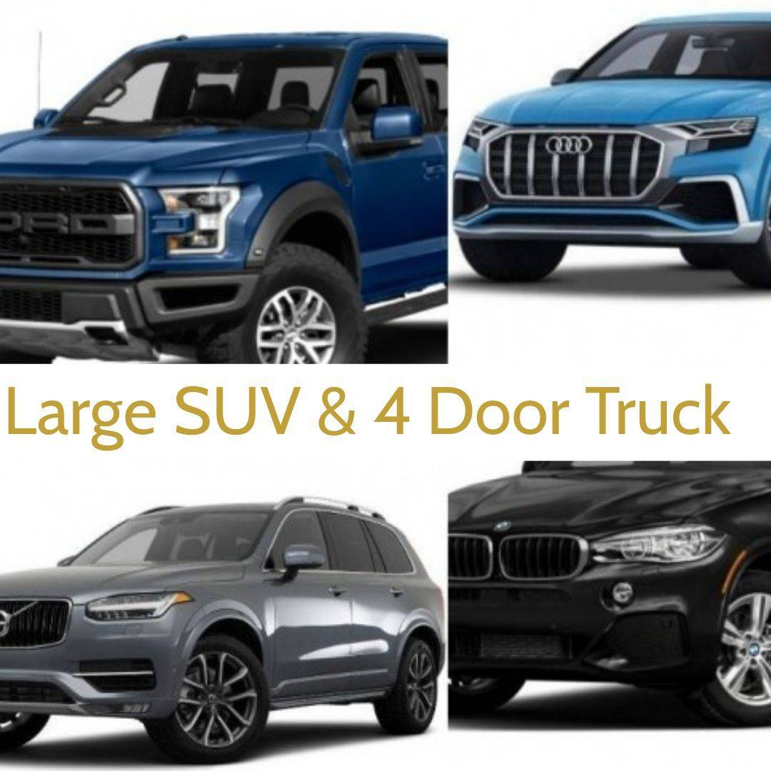 large SUV packages