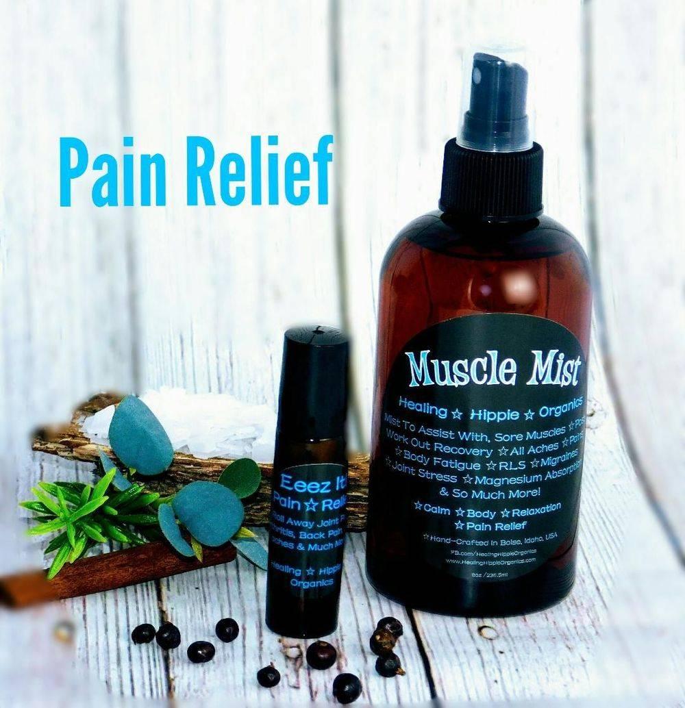 Pain Relief, Healing Hippie Organics, Boise, Idaho, USA