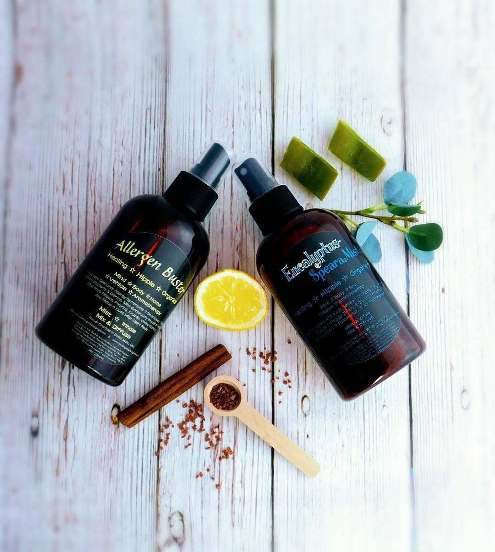 Seasonal Relief Essential Oil REmedies, Healing HIppie Organics, Boise, Idaho, USA