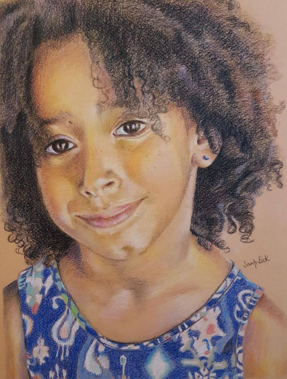 people portrait, girl portrait, portrait art