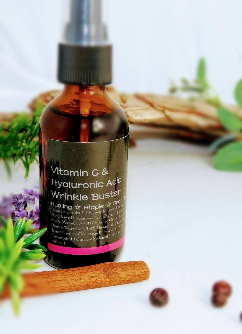 Skyn Wrinkle Serum, Healing Hippie Organics, Boise, Idaho, USA