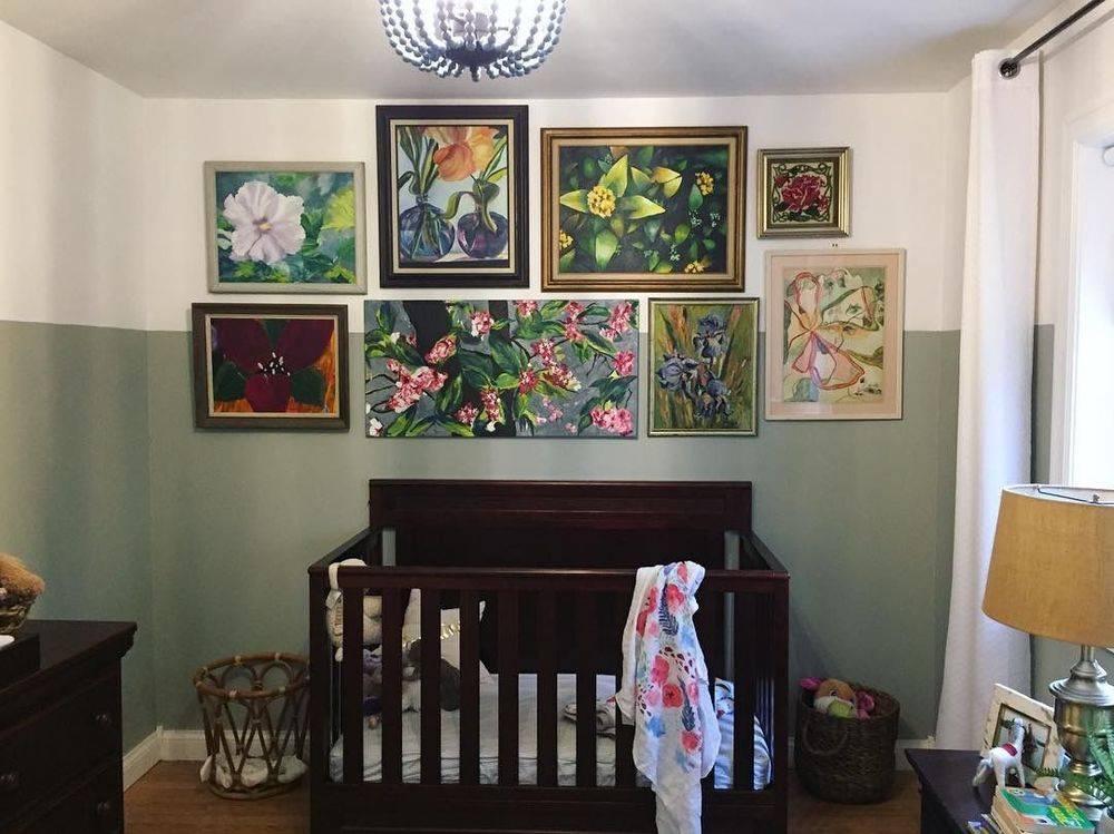 How to collect art birdgirl Sasha French nursery art