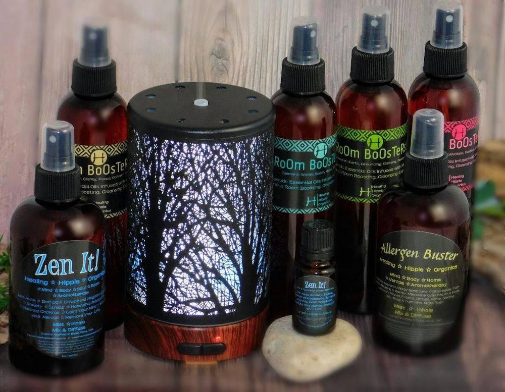 Diffuser Ready Essential Oils, Healing Hippie Organics, Boise, Idaho, USA