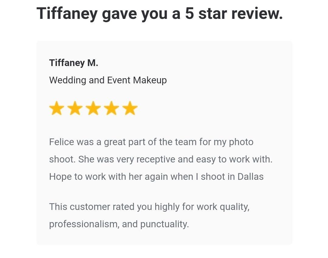Tiffaney Malott, Photoshoot, Makeup Artist