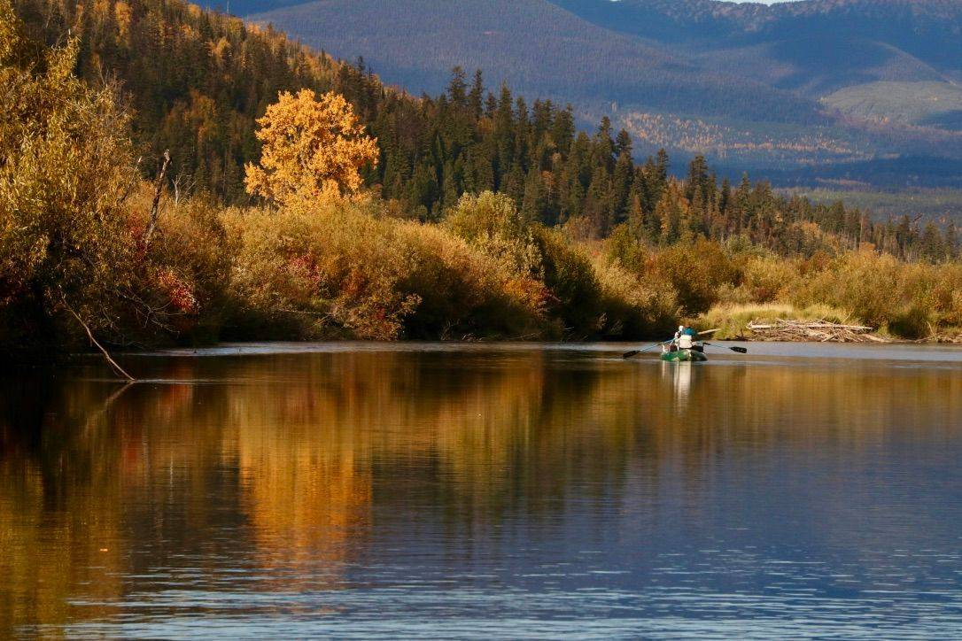 trip, fly fishing, McLennan, fishing