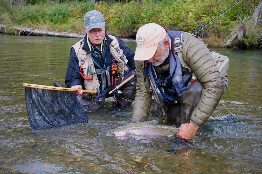 trip, fly fishing, McLennan, fishing