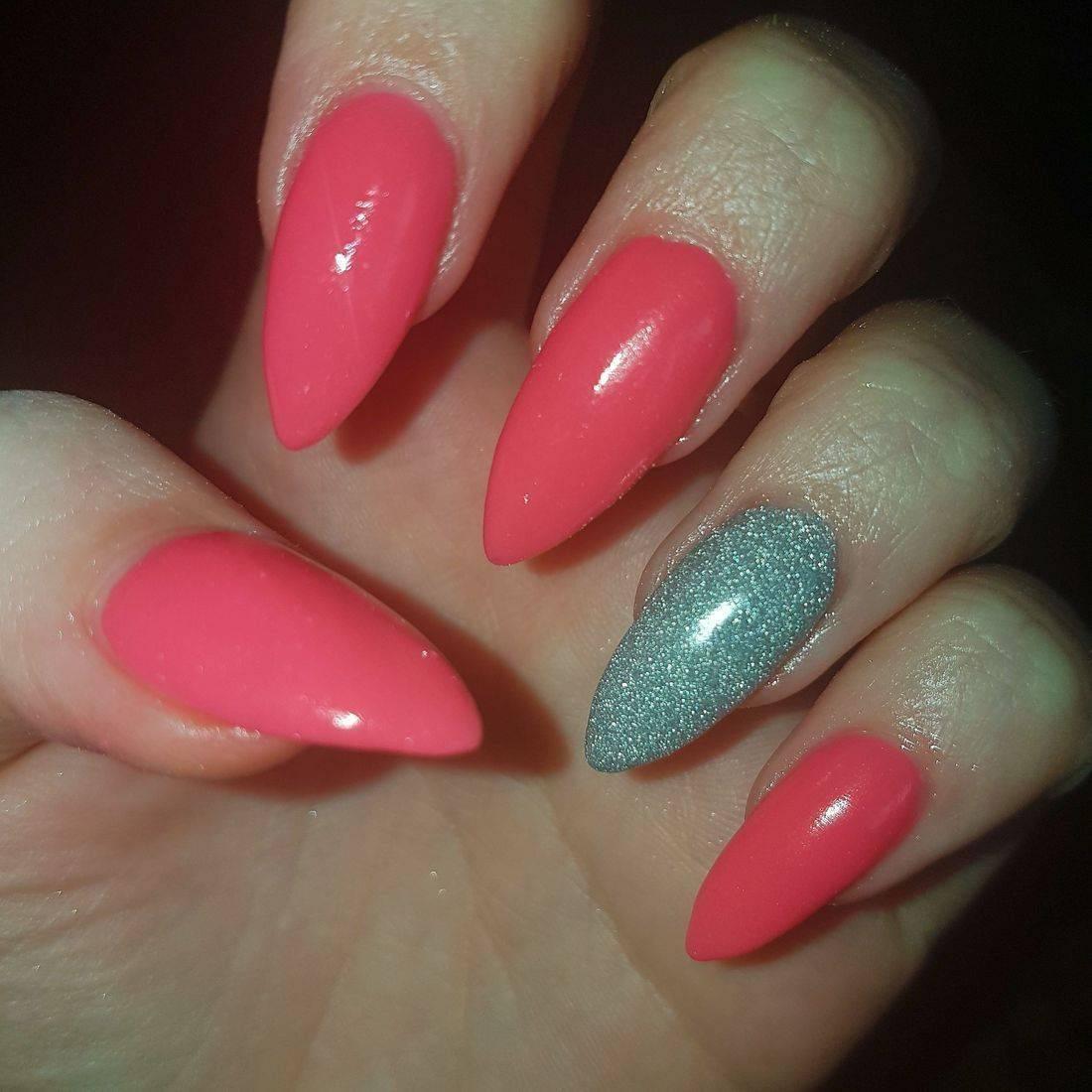 Amazing nails following 1 2 1 class