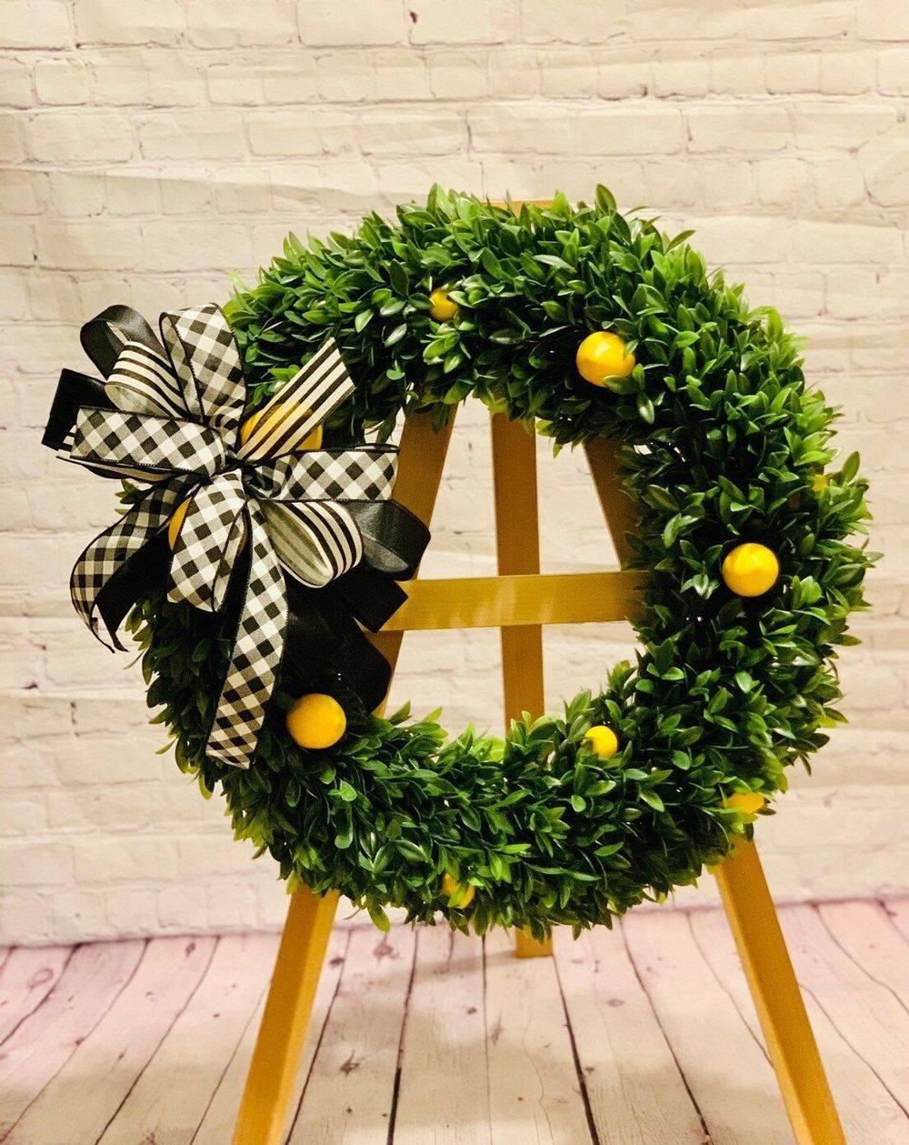 Lemon Home Wreath