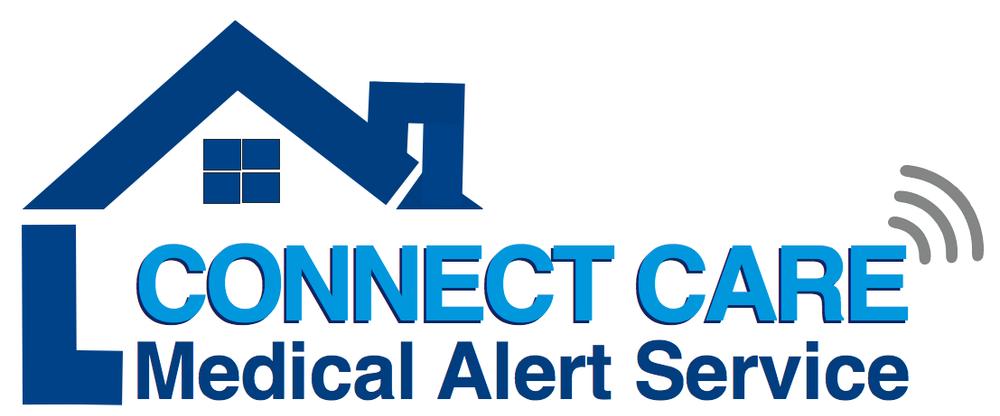 Connect Care Medical Alert Logo Link in Blue