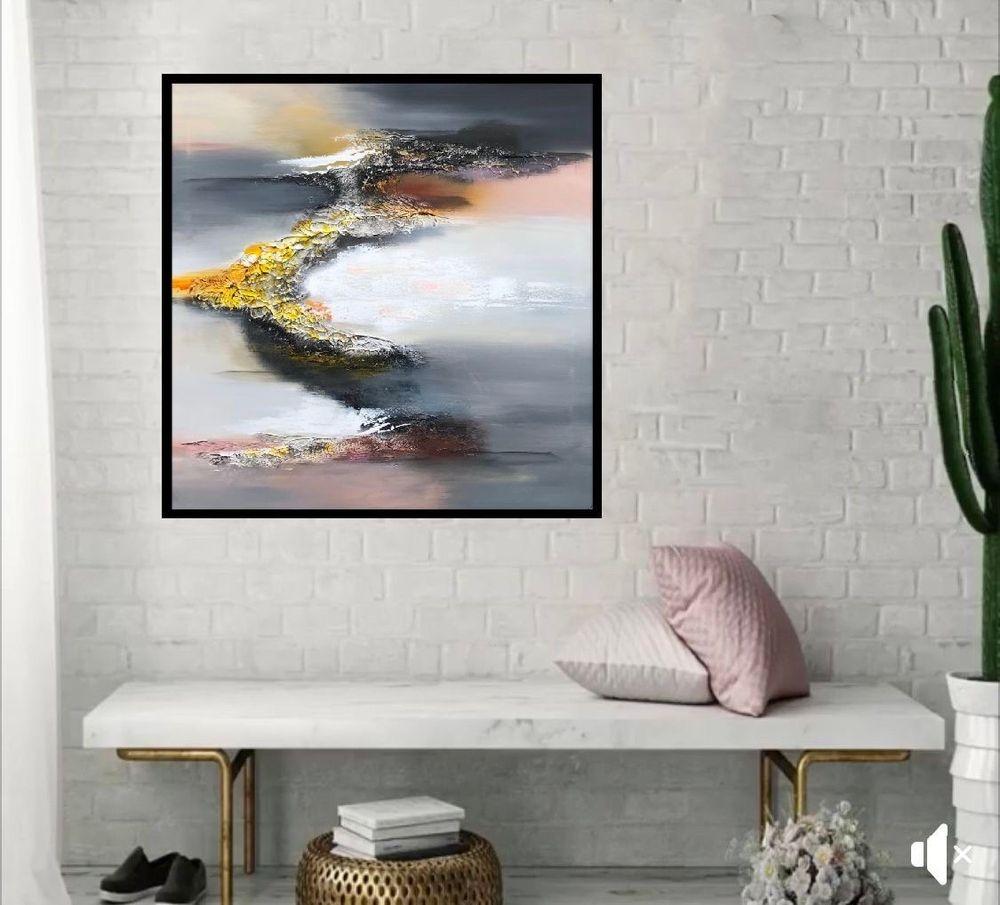 malerier-moderne-farverige-abstrakte-kunst-nr.247a
