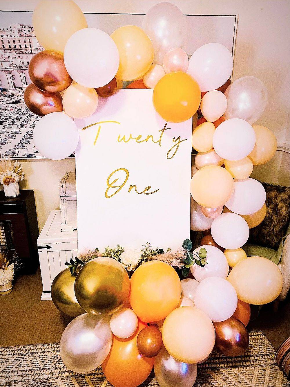 Twenty One Sign