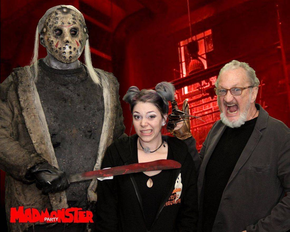 freddy kruger jason vorhees robert englund kirzinger mad monster party horror friday the 13th nightmare on elm street