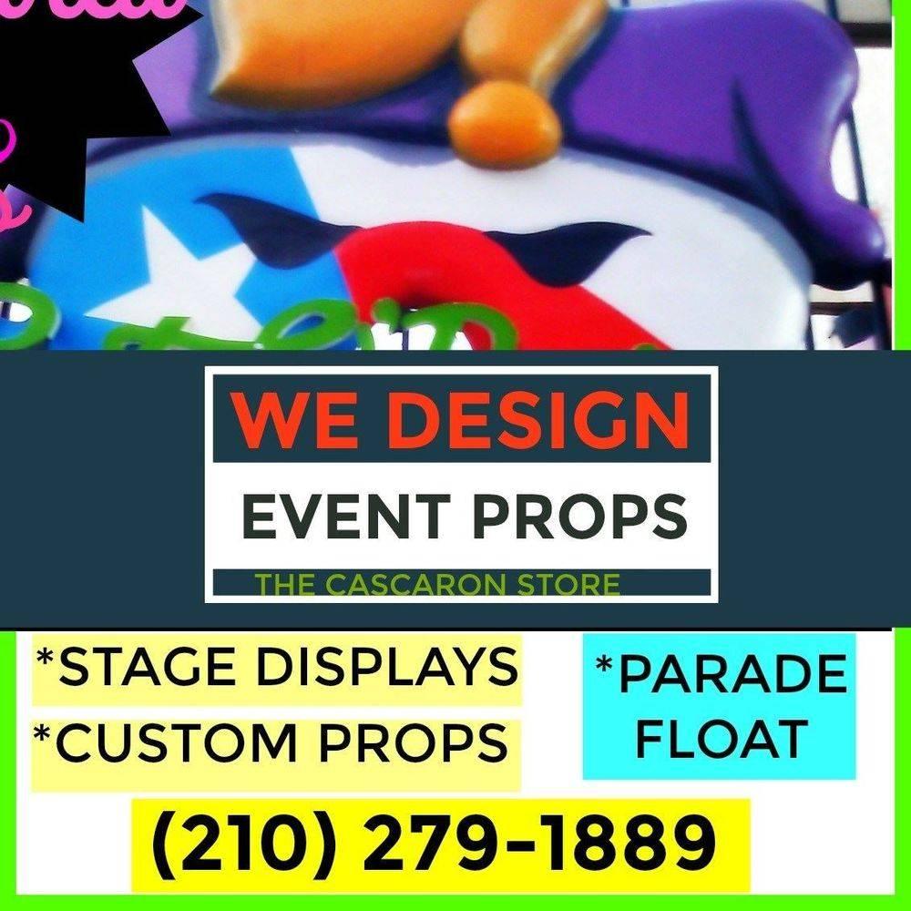 event planner props & displays
