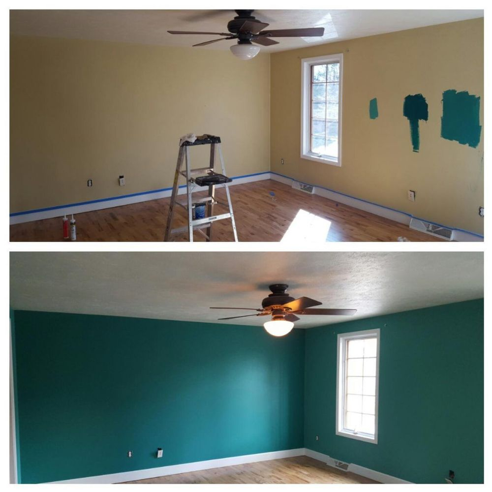 Bedore interior painting in waldorf, md