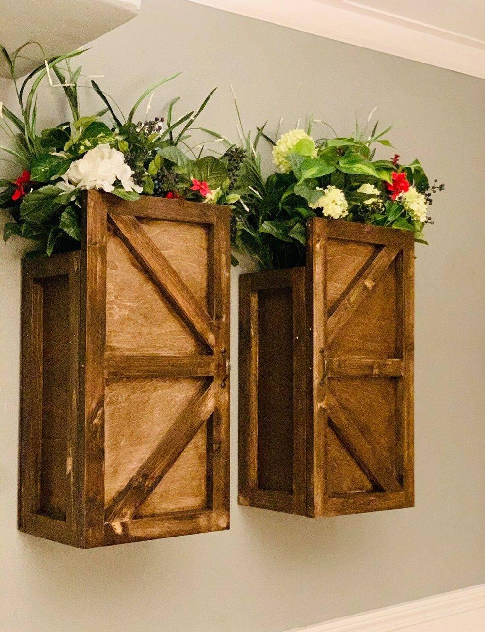 Handmade Wooden Indoor Planters