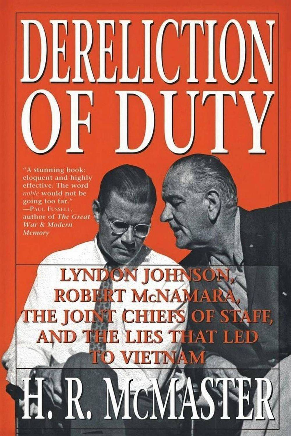 Book review, war is my business, wimb, Dereliction of Duty review