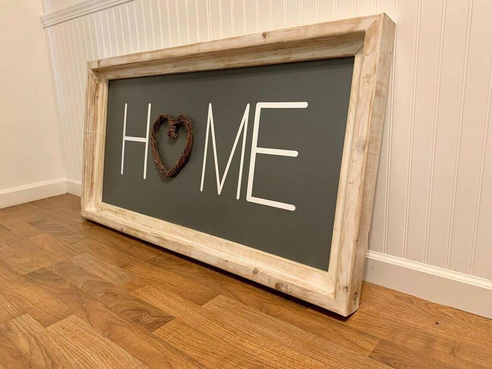 Handmade Home Sign