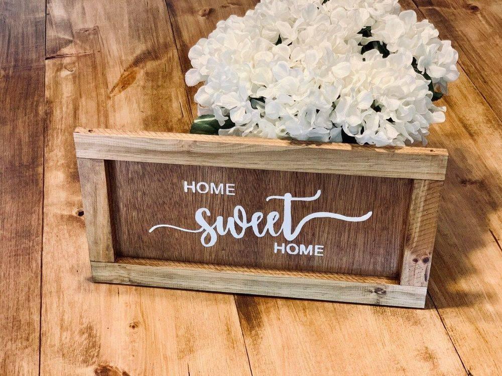 Handmade Home Sweet Home Sign