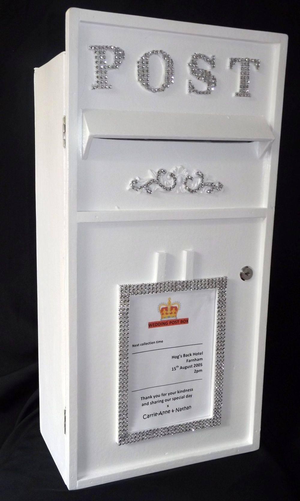 White Wood Wedding Post Box Hire, Surrey, Hampshire