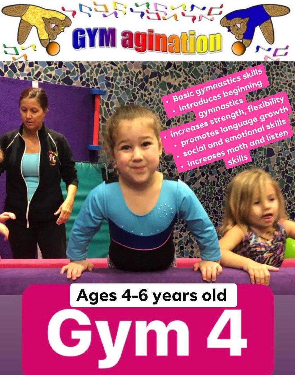 Gym 4 4-6 year olds