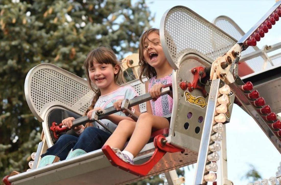 Galesburg Railroad Days Ferris Wheel Entertainment for Kids