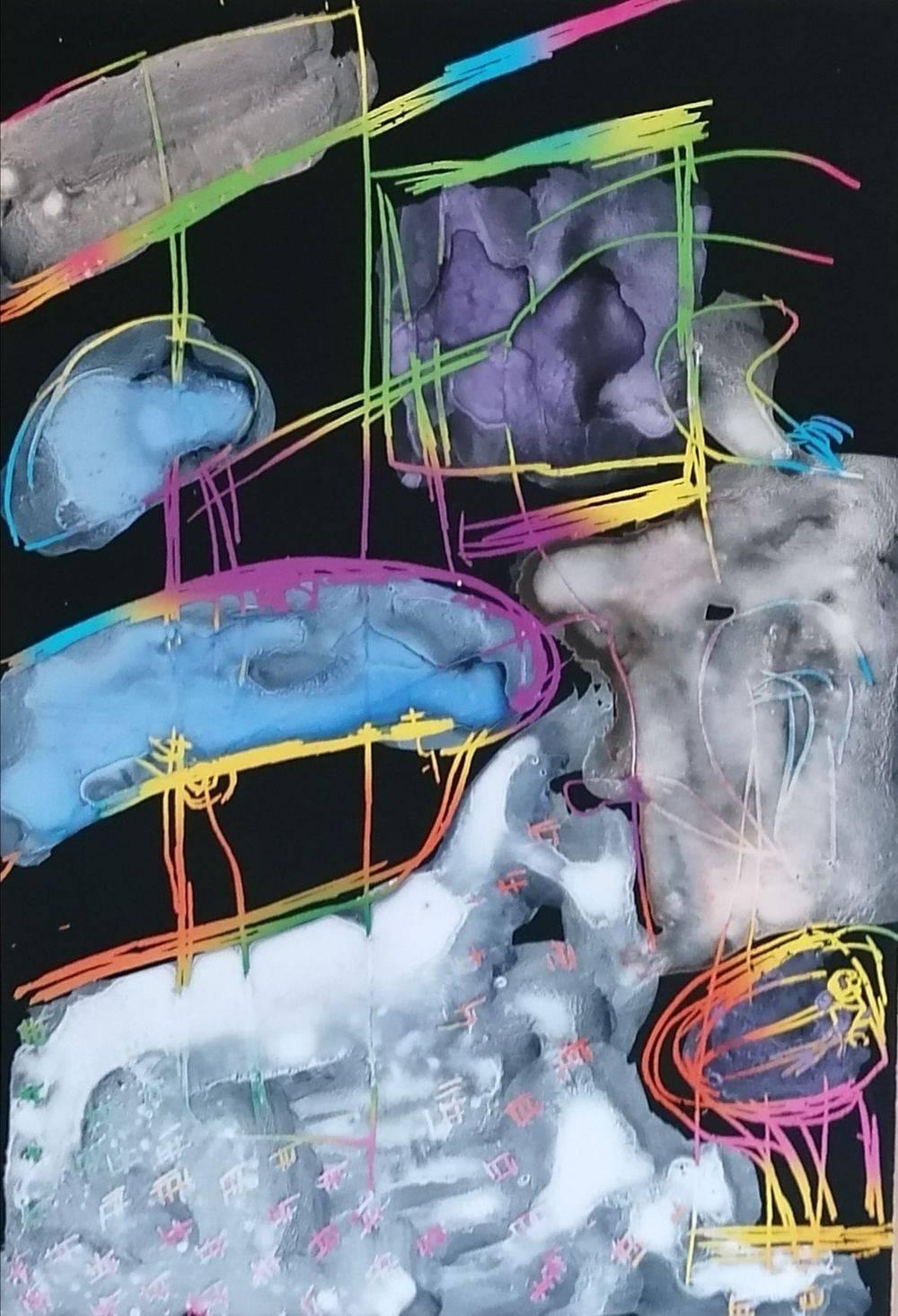 Aquarelle, Carte à gratter, Dessin, Natures mortes, Intérieurs, Histoire de l'art