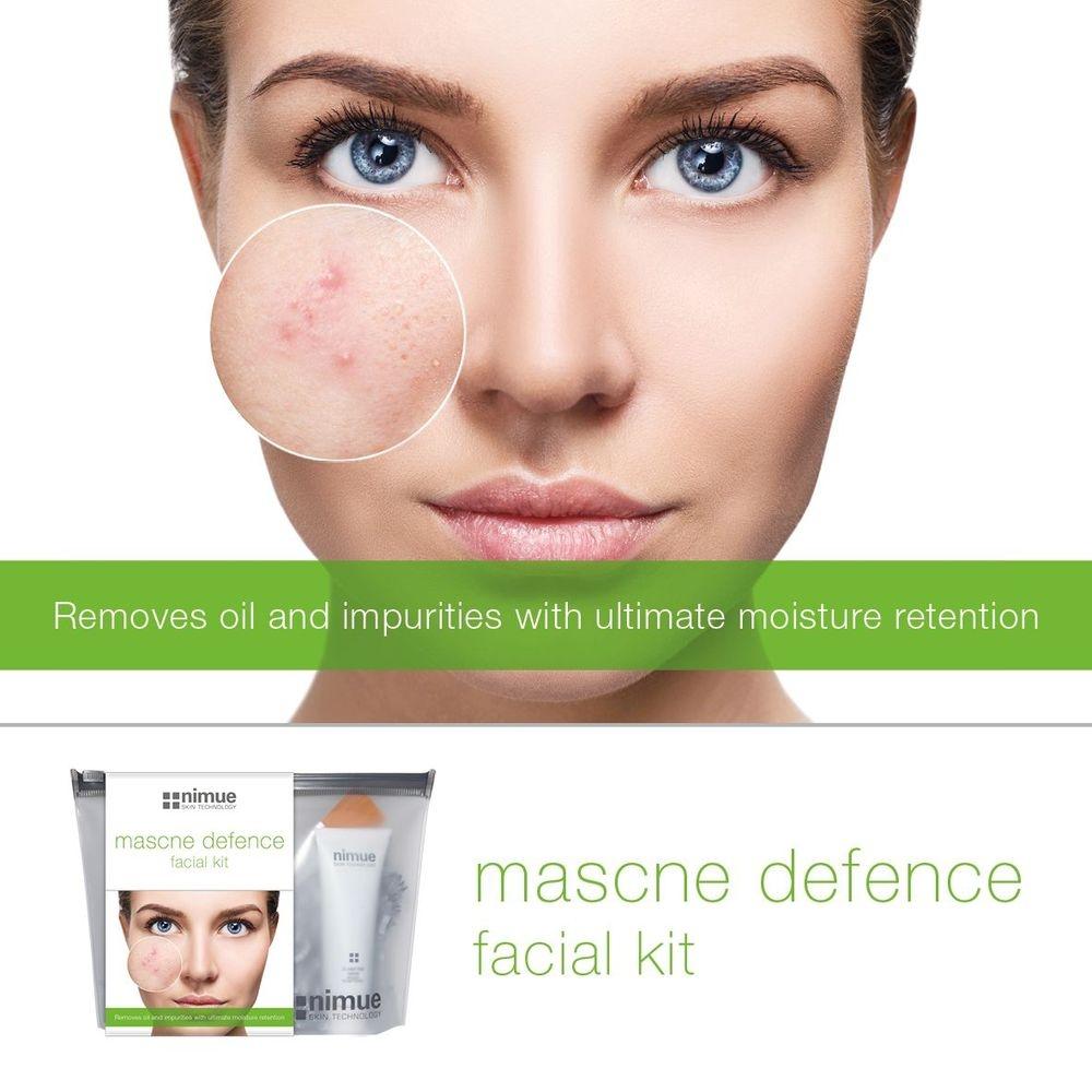 Acne, Breakouts, oily skin, problematic skin, Nimue, mascne, maskne