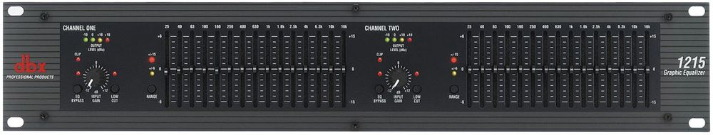 dbx 1215 dual 15 band Eq for rent
