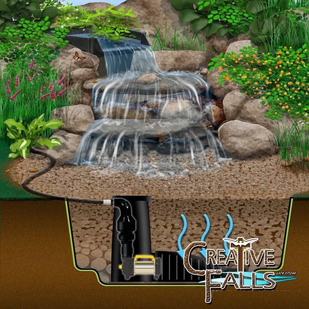 Elk Grove Pond Repair Pondless Waterfalls