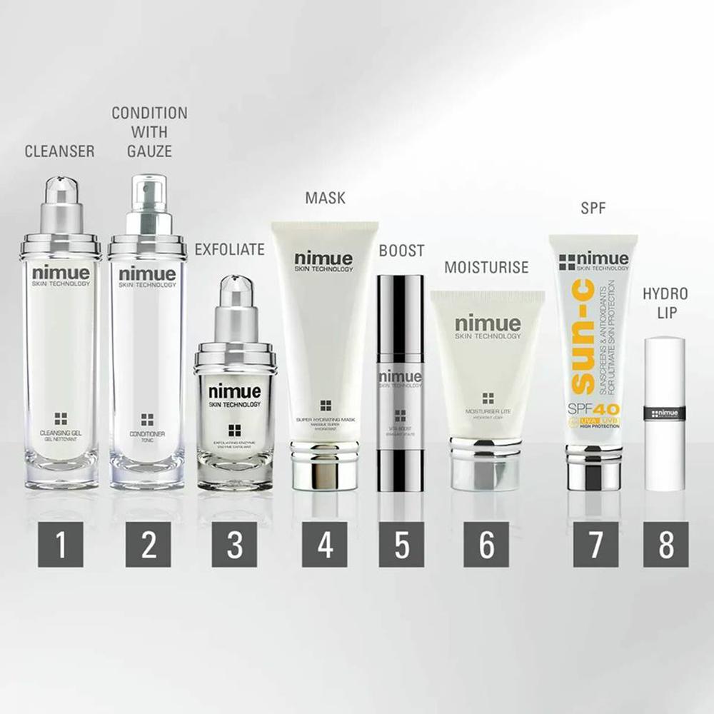 Nimue, Anti-Ageing, Skincare, SPF, Rejuvenating, Retinol, AHA