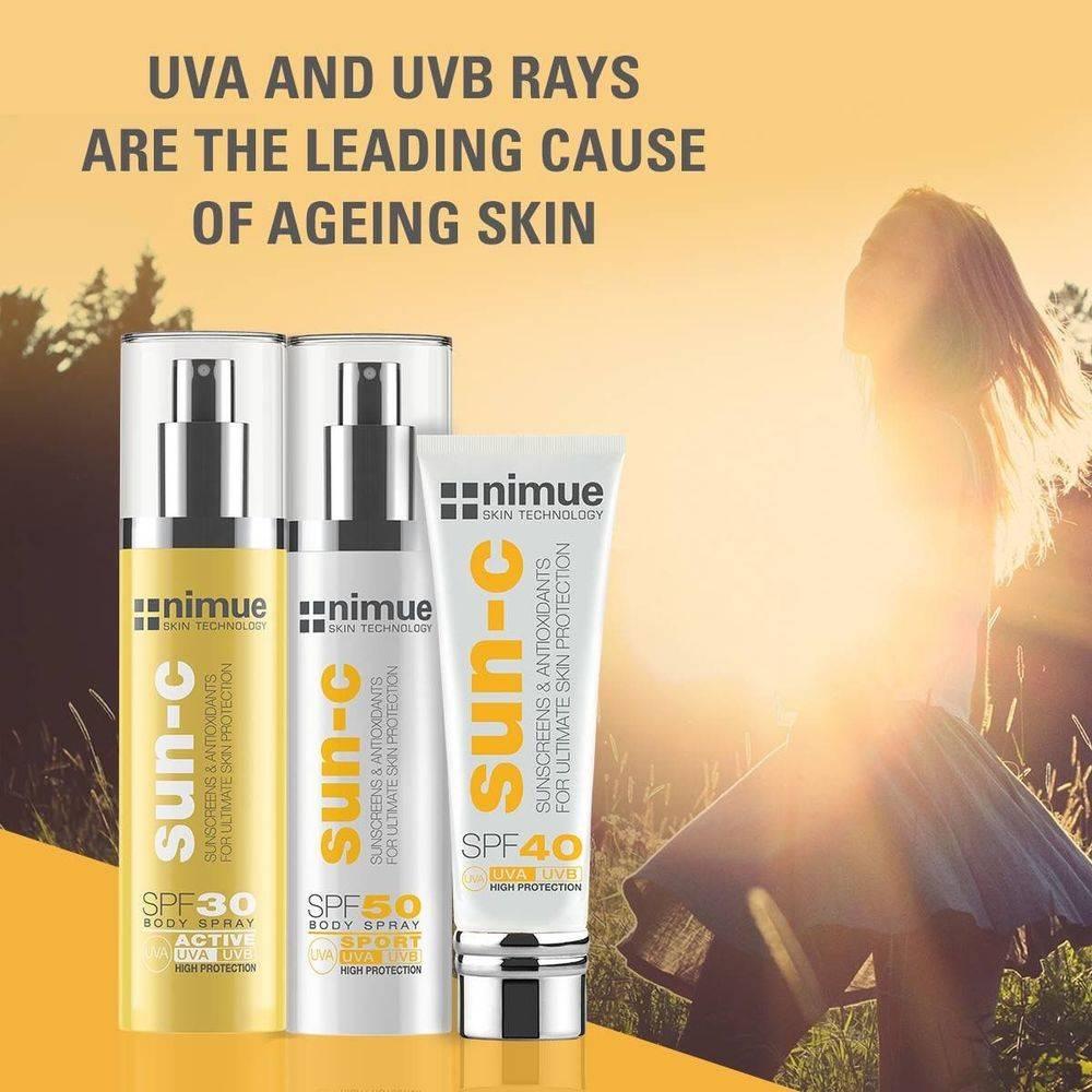 SPF, UVA, UVB, Sun protection, skin