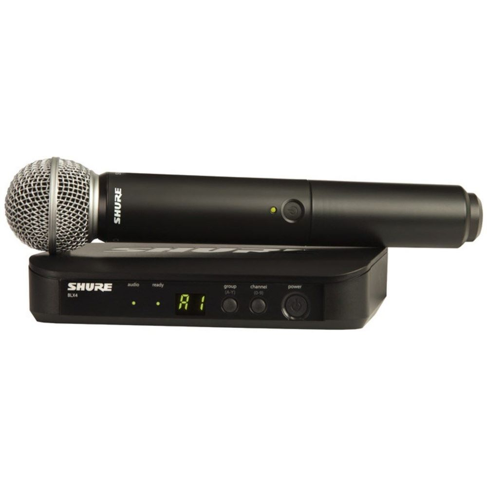 Shure BLX24/SM58 Handheld Wireless Mic System for rent